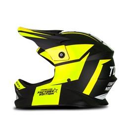 Capacete Motocross Infantil Pro Tork Factory Edition Neon Amarelo