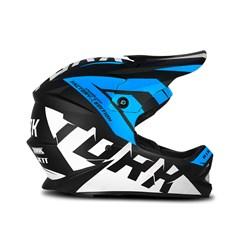 Capacete Motocross Infantil Pro Tork Factory Edition Neon Azul