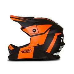 Capacete Motocross Infantil Pro Tork Factory Edition Neon Laranja