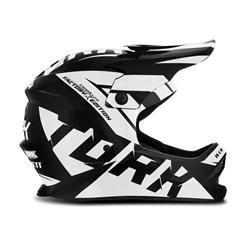 Capacete Motocross Infantil Pro Tork Factory Edition Preto e Branco