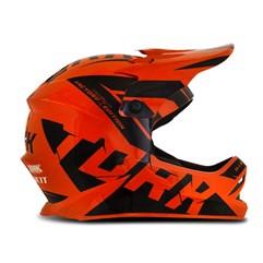 Capacete Motocross Infantil Pro Tork Factory Edition Preto e Laranja
