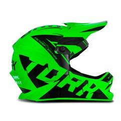 Capacete Motocross Infantil Pro Tork Factory Edition Preto e Verde