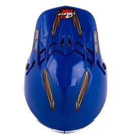 Capacete Motocross Liberty Mx Pro + Óculos 788 Preto