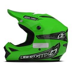 Capacete Motocross Off Road Pro Tork Liberty MX Pro Verde