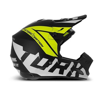 Capacete Motocross Pro Tork TH1 Factory Edition Neon