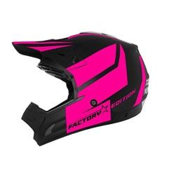 Capacete Motocross Pro Tork TH1 Factory Edition Neon Rosa