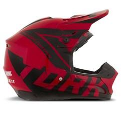 Capacete Motocross Pro Tork TH1 Factory Edition Preto/Vermelho