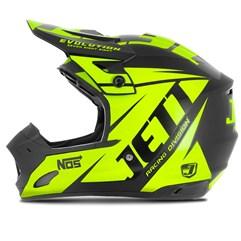 Capacete Motocross TH1 Jett Evolution Neon