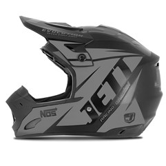 Capacete Motocross TH1 Jett Evolution Neon Grafite