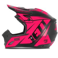 Capacete Motocross TH1 Jett Evolution Neon Pink
