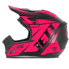 Capacete Motocross TH1 Jett Evolution Neon Pink