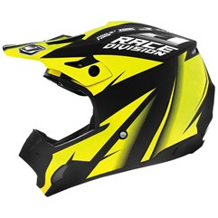 Capacete Motocross TH1 Jett Factory Edition Neon Amarelo