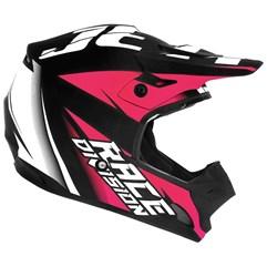 Capacete Motocross TH1 Jett Factory Edition Neon Rosa