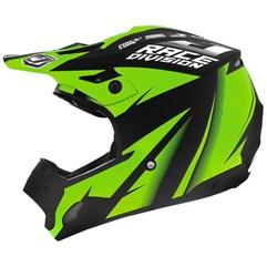Capacete Motocross TH1 Jett Factory Edition Neon Verde