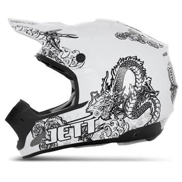 Capacete Motocross TH1 Jett Tattooed