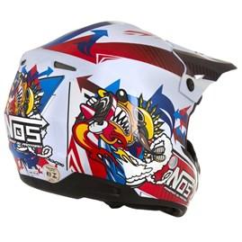Capacete Motocross TH1 NOS