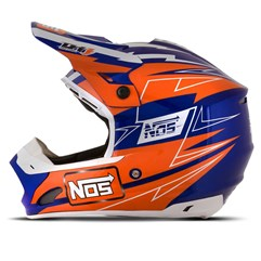 Capacete Motocross TH1 Nos NS7