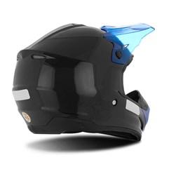 Capacete Motocross TH1 Solid Preto