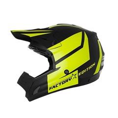 Capacete Motocross Trilha Factory Edition Neon Pro Tork Amarelo