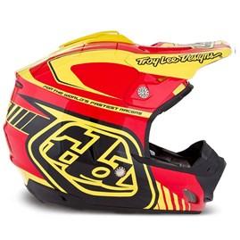 Capacete Motocross Troy Lee SE3 Brasil