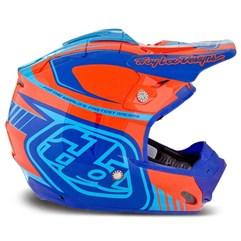 Capacete Motocross Troy Lee SE3 Brasil Orange