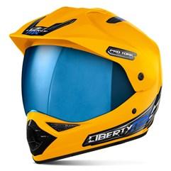 Capacete Pro Tork Liberty MX Pro Vision Viseira Iridium