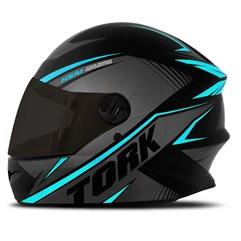 Capacete Pro Tork R8 Azul Claro VIS. FUME