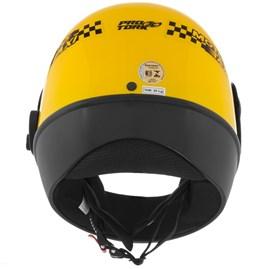 Capacete Pro Tork Sport Moto Amarelo Moto Táxi