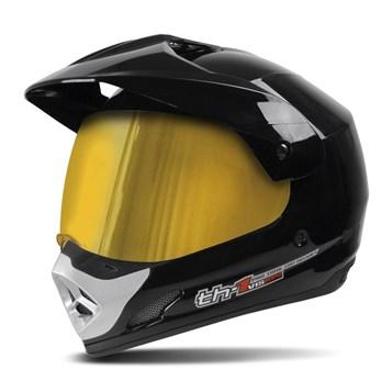 Capacete Pro Tork TH1 Vision Viseira Dourada