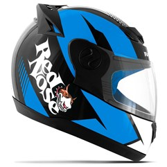 Capacete Red Nose Pro Tork Evolution RN-01 Azul Brilhante