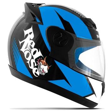 Capacete Red Nose Pro Tork Evolution RN-01 Azul Brilhante