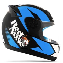 Capacete Red Nose Pro Tork Evolution RN-01 Azul Fosco