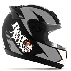 Capacete Red Nose Pro Tork Evolution RN-01 Grafite Fosco