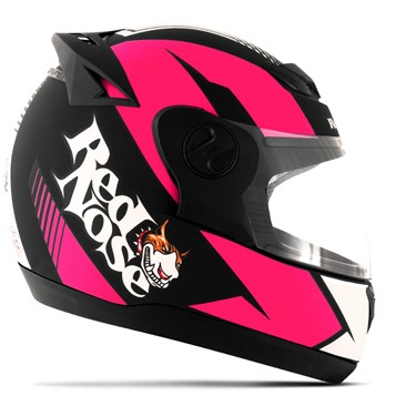 Capacete Red Nose Pro Tork Evolution RN-01 Rosa Fosco