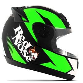Capacete Red Nose Pro Tork Evolution RN-01 Verde Fosco