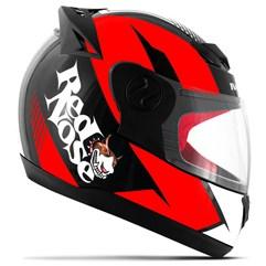 Capacete Red Nose Pro Tork Evolution RN-01 Vermelho Brilhante