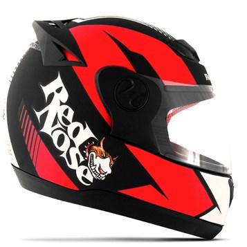 Capacete Red Nose Pro Tork Evolution RN-01 Vermelho Fosco
