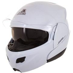 Capacete Robocop Articulado Pro Tork Attack Solid Branco