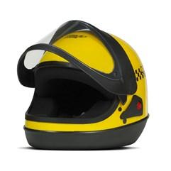 Capacete Sport Moto Amarelo Moto Táxi