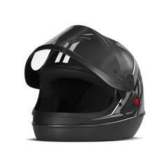 Capacete Super Sport Moto 2019 Fosco Cinza
