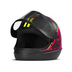 Capacete Super Sport Moto 2019 Fosco Rosa