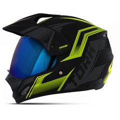 Capacete TH-1 Vision New Adventure Amarelo VIS. IRIDIUM