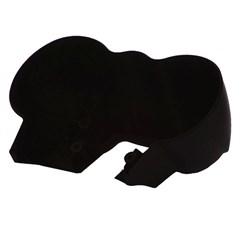 Carcaça Do Painel Inferior Preta Titan 150 2004 Até 2008 Pro Tork