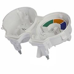 Carcaça Do Painel Interna Branca Titan/Fan 125 2000 Até 2008 Pro Tork