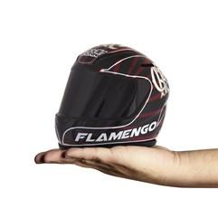 Cofre Mini Capacete Pro Tork Flamengo