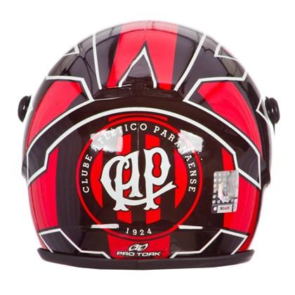 Cofrinho Pro Tork Mini Capacete Atlético Paranaense