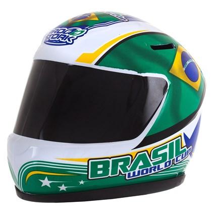 Cofrinho Pro Tork Mini Capacete Brasil