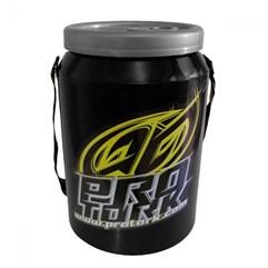 Cooler Térmico Cerveja Pro Tork Preto/Amarelo - 24 Latas