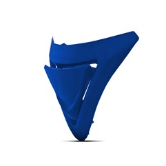 Entrada De Ar Inferior Evolution G6 Brasil Azul