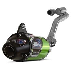 Escapamento Completo Pro Tork Powercore 3 NXR 150 Bros 2009 Até 2015 Verde